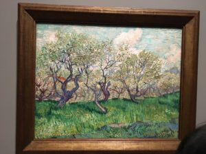 Orchard in blossom - 1889 Vincent van Gogh