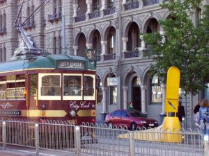 City Circle Tram การเดินทางในเมลเบิร์น