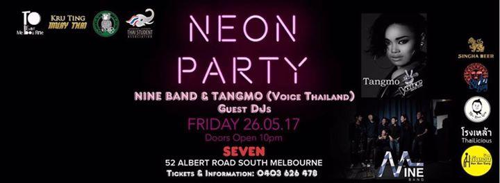 Neon Party Nine Band & Tangmo (Voice Thailand), เด็กออส, dekaus, melbourne, คนไทย, คนไทย เมลเบิร์น, เมลเบิร์น