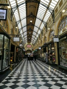 ทางเดินใน Royal Arcade