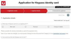 หน้าเว็บสมัคร Keypass
