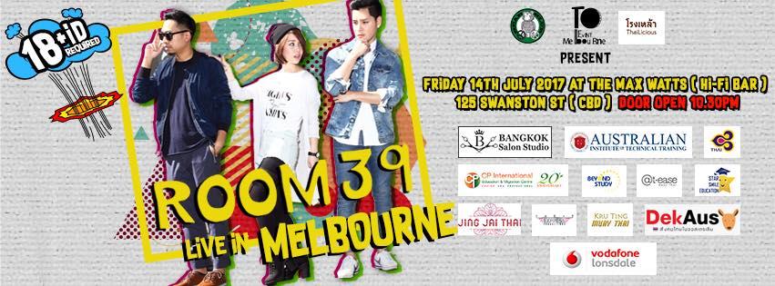 Room 39 Live in Melbourne, Dekaus, Melbourne, เด็กออส, เมลเบิร์น