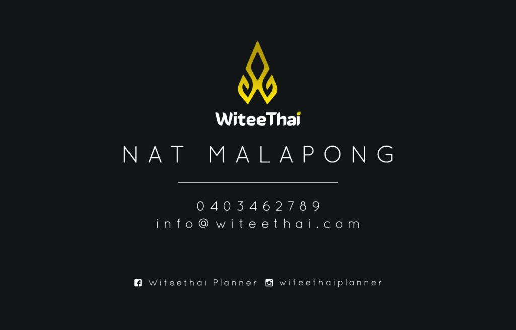 Witee Thai Wedding Planner Melbourne