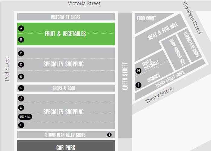 แผนที่ตลาดในออสเตรเลีย