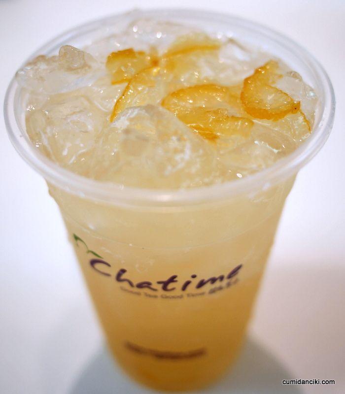 น้ำผลไม้ Chatime
