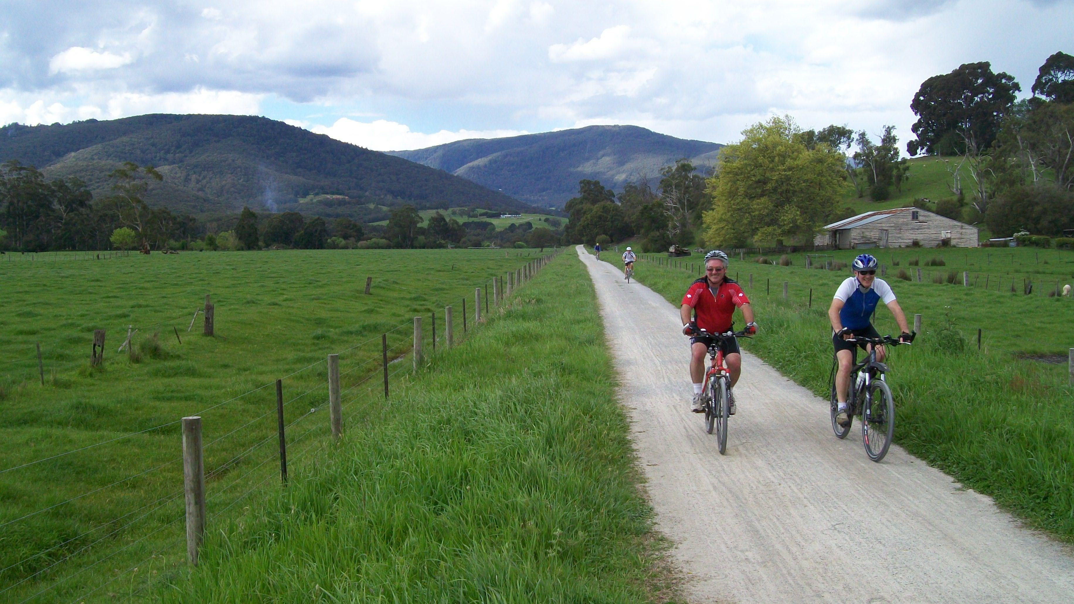 เส้นทางปั่นจักรยานในเมลเบิร์น